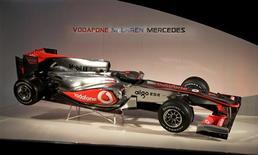 <p>McLaren apresentou carro para a temporada 2010 de Fórmula 1. REUTERS/Kieran Doherty</p>