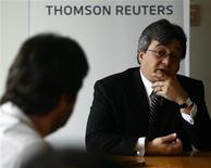 <p>O presidente-executivo da Claro, João Cox, em foto de arquivo. REUTERS/Alex Almeida</p>