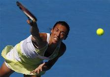 <p>La tennista italiana Francesca Schiavone. REUTERS/Vivek Prakash</p>