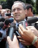 <p>Claudio Lotito in foto d'archivio. REUTERS/Dario Pignatelli</p>