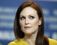 """<p>Actress Julianne Moore attends a news conference to promote the movie """"The Kids are All Right"""" at the Berlinale International Film Festival in Berlin, February 17, 2010. REUTERS/Christian Charisius</p>"""