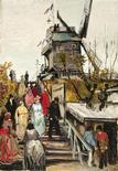 <p>Pintura chamada 'Le Blute-Fin Mill', de Vincent van Gogh, divulgada pelo Museum de Fundatie. REUTERS/Museum de Fundatie/Divulgação</p>