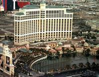 <p>The Bellagio Hotel and Casino is shown in a file image. REUTERS/file</p>