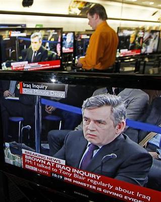 British PM Brown tells inquiry Iraq war was right