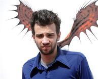 """<p>Membro do elenco de """"Como Treinar seu Dragão"""" Jay Baruchel em première do filme em Los Angeles. 21/03/2010 REUTERS/Phil McCarten</p>"""