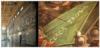 <p>Dipinto di Giorgio Vasari in foto d'archivio. REUTERS/Handout</p>