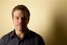 """<p>Actor Matt Damon poses for a portrait while promoting the film """"Green Zone"""" in New York, February 26, 2010. REUTERS/Lucas Jackson</p>"""