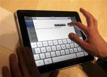<p>iPad da Apple será lançado oficialmente no sábado. REUTERS/Kimberly White</p>