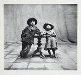 "<p>A gelatin silver print by photographer Irving Penn, printed no later than 1964, titled ""Cuzco Children 1948"" is shown in this handout picture released to Reuters April 14, 2010. REUTERS/Copyright 1960 (renewed 1988) Conde Nast Publications Inc./Irving Penn/Handout</p>"