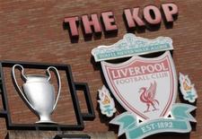 <p>O clube inglês Liverpool tem planos de construir um novo estádio. 16/04/2010 REUTERS/Phil Noble</p>