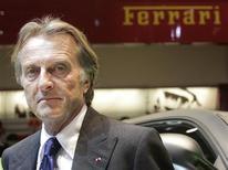 <p>Il direttore della Ferrari, Luca Cordero di Montezemolo REUTERS/Denis Balibouse</p>