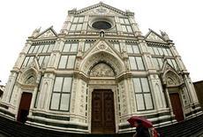 <p>La Chiesa di Santa Croce a Firenze, foto d'archivio. REUTERS/Max Rossi</p>