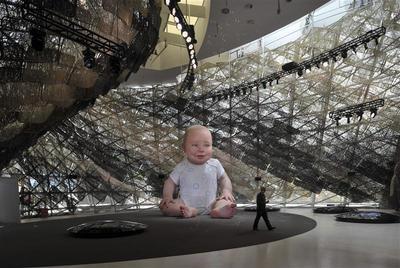 World Expo pavilions