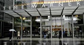 <p>Time Warner fait état d'un résultat meilleur que prévu, grâce à un net rebond de son chiffre d'affaires publicitaire dans ses branches magazines et réseaux câblés et à de fortes ventes de certains de ses films sortis en DVD. /Photo d'archives/REUTERS/Nicholas Roberts</p>
