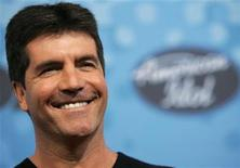 """<p>Judge Simon Cowell attends the party for the 12 finalists of the television show """"American Idol"""" at the Pacific Design Center in Los Angeles, March 9, 2006. REUTERS/Mario Anzuoni</p>"""