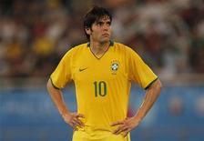 <p>Meia Kaká desembarcou no Brasil e garantiu que estará 100% fisicamente para a Copa após lesões. REUTERS/ Eddie Keogh</p>