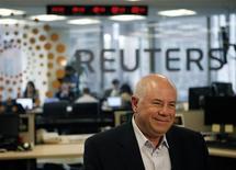 <p>Eli Harari, amministratore delegato di SanDisk, in foto d'archivio. REUTERS/Robert Galbraith</p>