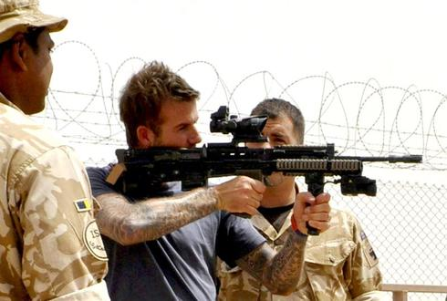 Beckham in Afghanistan