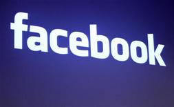 <p>Il logo di Facebook. REUTERS/Robert Galbraith</p>