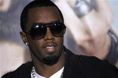 """<p>Cast member Sean 'Diddy' Combs poses at the premiere of """"Get Him to the Greek"""" at the Greek theatre in Los Angeles May 25, 2010. The movie opens in the U.S. on June 4. REUTERS/Mario Anzuoni</p>"""