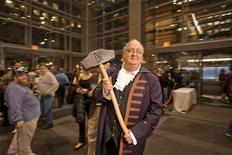 <p>The Philly Beer Week mallet used to tap the first keg during the Opening Tap kickoff night, in an undated photo. REUTERS/Philly Beer Week</p>