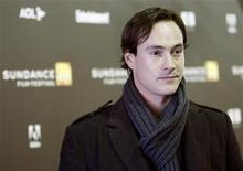 """<p>Cast member Chris Klein poses at the premiere of """"The Good Life"""" during the Sundance Film Festival in Park City, Utah in this January 20, 2007 file photo. REUTERS/Mario Anzuoni</p>"""