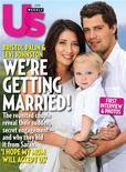 <p>A mãe adolescente Bristol Palin, filha da ex-candidata à vice-presidência Sarah Palin, ao lado de Levi Johnston e seu filho Tripp na capa da Us Weekly anunciando o casamento. 14/07/2010 REUTERS/Us Weekly/Divulgação</p>
