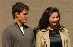 <p>Bristol Palin e Levi Johnston durante a corrida presidencial em 2008. A filha da ex-candidata a vice-presidente dos EUA Sarah Palin, rompeu seu noivado com Levi Johnson pela segunda vez. 03/08/2008 REUTERS/Brian Snyder/Arquivo</p>