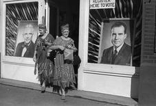 <p>A photo taken by Henri Cartier-Bresson is seen in a handout photo. REUTERS/Henri Cartier-Bresson/Magnum Photos/Handout</p>