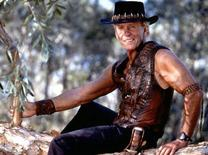 "<p>Actor Paul Hogan is pictured in an undated publicity photo from ""Crocodile Dundee in Los Angeles,"". REUTERS/Jasin Boland/Paramount Picture</p>"