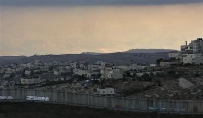 Mideast flashpoint: Barrier