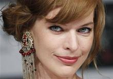 """<p>Actress Milla Jovovich attends a news conference to promote her movie """"Resident Evil: Afterlife 3D"""" in Tokyo September 3, 2010. REUTERS/Toru Hanai</p>"""