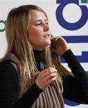 """<p>A austríaca Natascha Kampusch, que passou oito anos como refém, lança sua autobiografia, o livro """"3.096 Dias"""". REUTERS/Leonhard Foeger</p>"""