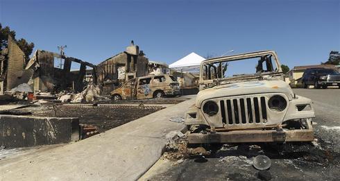San Francisco blast aftermath
