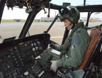 <p>Britain's Prince William is seen sitting at the controls of his Sea King helicopter in this September 3 handout photograph received in London on September 17, 2010. The Prince graduated on Friday at RAF Valley, in Wales, and is now a fully-qualified Search and Rescue pilot. REUTERS/Flight Sergeant Andy Carnall/ MoD/Crown Copyright/Pool</p>