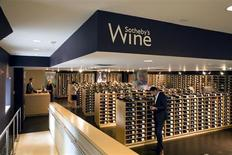 <p>The Sotheby's Wine retail shop in an image courtesy of Sotheby's. REUTERS/Sotheby's</p>