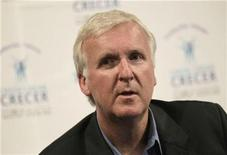 <p>Film director James Cameron listens to questions from journalists during a news conference after he took part in the Mexico Century XXI forum at the National auditorium in Mexico City September 7, 2010. REUTERS/Henry Romero</p>