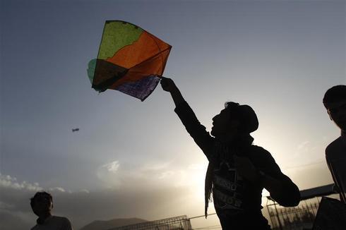 Kabul's kite skies