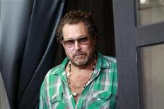 "<p>Julian Schnabel, director of the in-competition film ""Miral"", arrives for a photocall during the 67th Venice Film Festival September 2, 2010. REUTERS/Alessandro Bianchi</p>"