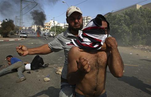 Israeli police, Arabs clash