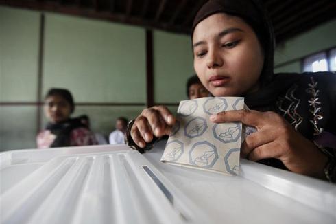 Myanmar votes