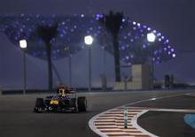 <p>Sebastian Vettel, da Red Bull, venceu o Grande Prêmio de Abu Dhabi de Fórmula 1 e conquistou o título de pilotos da categoria. REUTERS/Ahmed Jadallah</p>