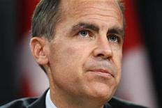 <p>Bank of Canada Governor Mark Carney pauses during a news conference upon the release of the Monetary Policy Report in Ottawa October 20, 2010. REUTERS/Chris Wattie</p>
