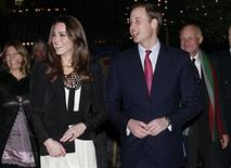 <p>Britain's Prince William (R) and his fiancee Kate Middleton arrive at The Thursford Collection in Norfolk, England, December 18, 2010. REUTERS/Stringer</p>