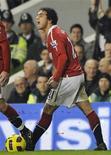 <p>O lateral do Manchester United Rafael foi acusado de conduta imprópria, informou nesta segunda-feira a associação de futebol inglesa (FA). REUTERS/Dylan Martinez</p>