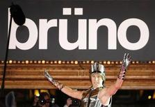 "<p>British actor Sacha Baron Cohen arrives for the Australian premiere of his new film ""Bruno"" in Sydney June 29, 2009. REUTERS/Daniel Munoz</p>"