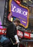 <p>Yahoo a annoncé la suppression de 1% de ses postes, soit la deuxième vague de licenciements en six semaines. /Photo prise le 25 janvier 2010/REUTERS/Brendan McDermid</p>