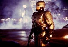 <p>Robocop in a file photo. REUTERS/File</p>