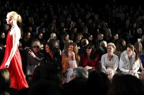 Who's at Fashion Week?