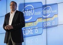 <p>Paul Otellini, presidente-executivo da Intel, afirmou que a Nokia teria sucesso no mercado de smartphones se tivesse optado pelo MeeGo. 05/01/2011 REUTERS/Rick Wilking</p>